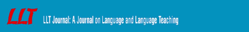 LLT Journal: A Journal on Language and Language Teaching