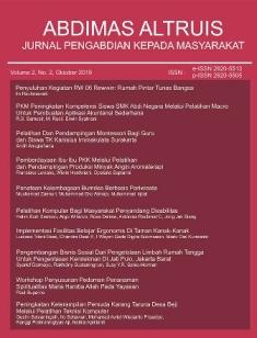 Abdimas Altruis front cover