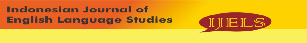 Indonesian Journal of English Language Studies (IJELS) header
